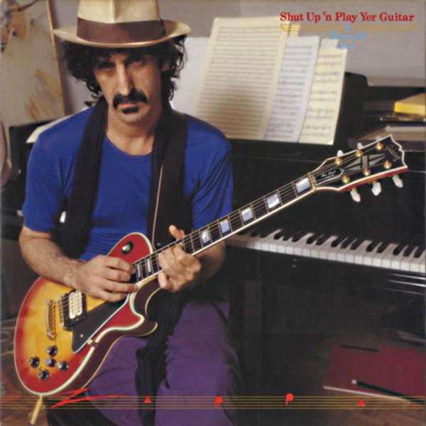 Frank Zappa Shut Up N Play Yer Guitar Levykauppa 33